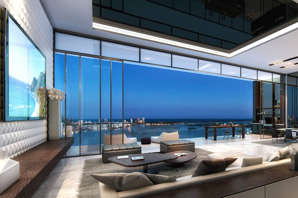 Echo brickell acoustic architects - Penthouse luxe missoni home ...