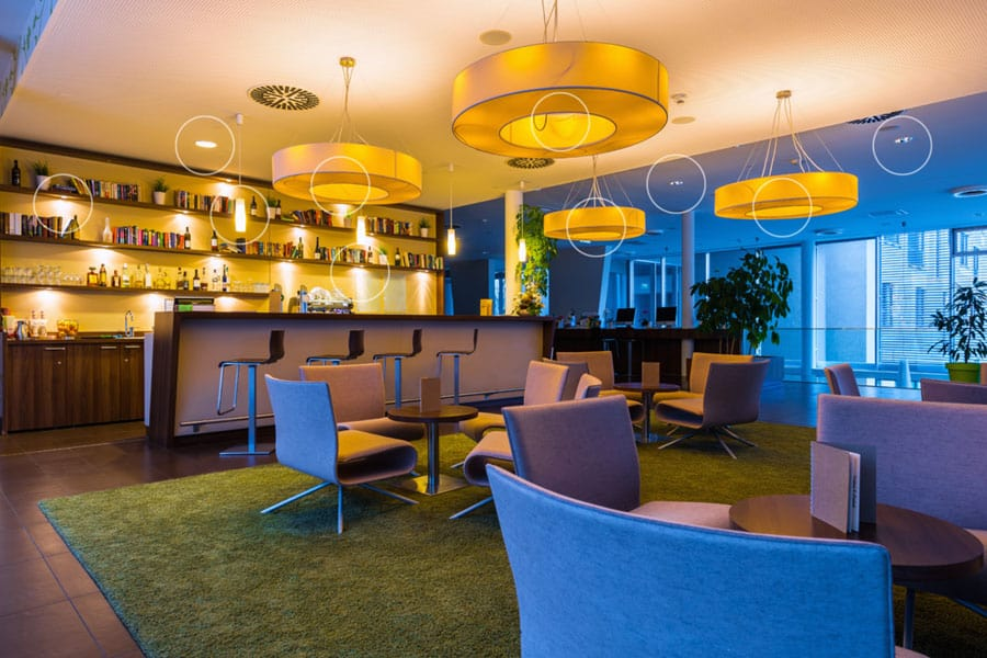 Tunable lighting for interior design and decor with Acoustic Architects