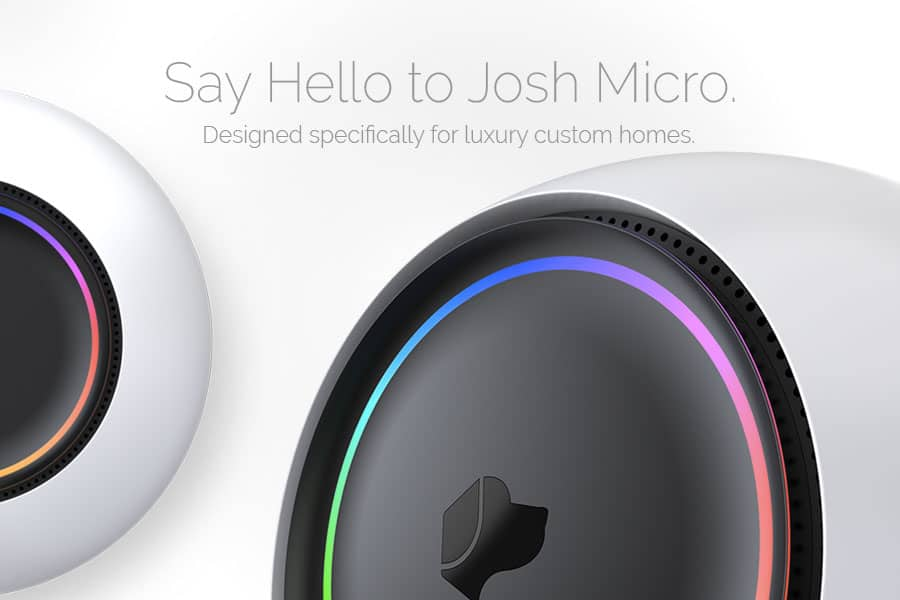josh.ai is the Smart Home Assistant for your home automation design by Acoustic Architects.