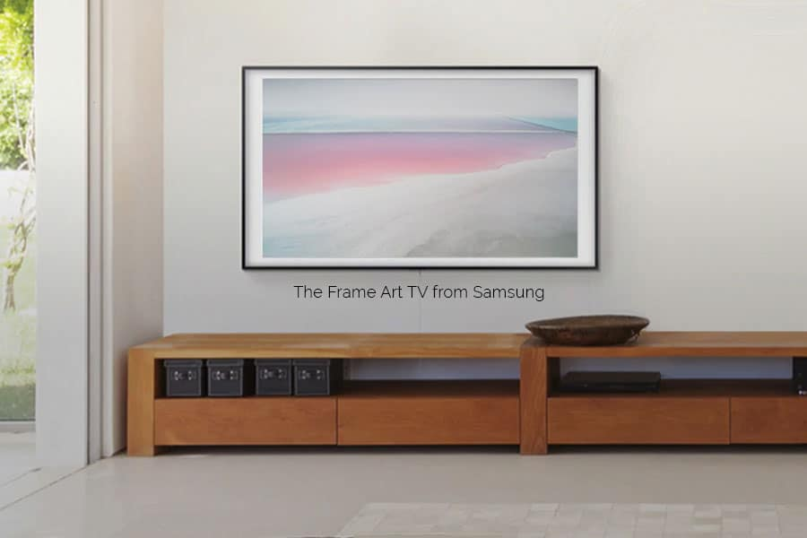The Samsung Frame TV is museum quality art and cutting-edge television technology