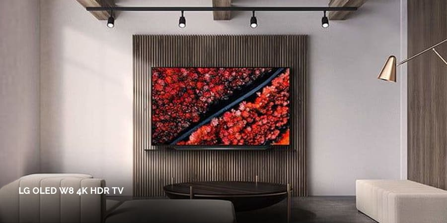 Barely there LG OLED Wallpaper TV.