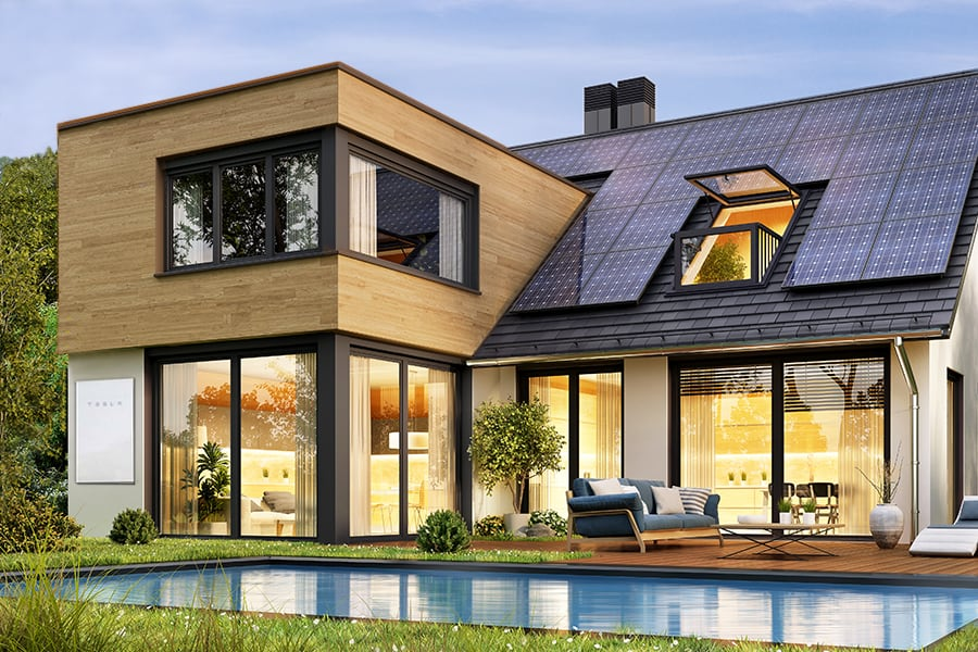 MIcrogrids for smart sustainable power from renewable energy systems from Tesla and Acoustic Architects.