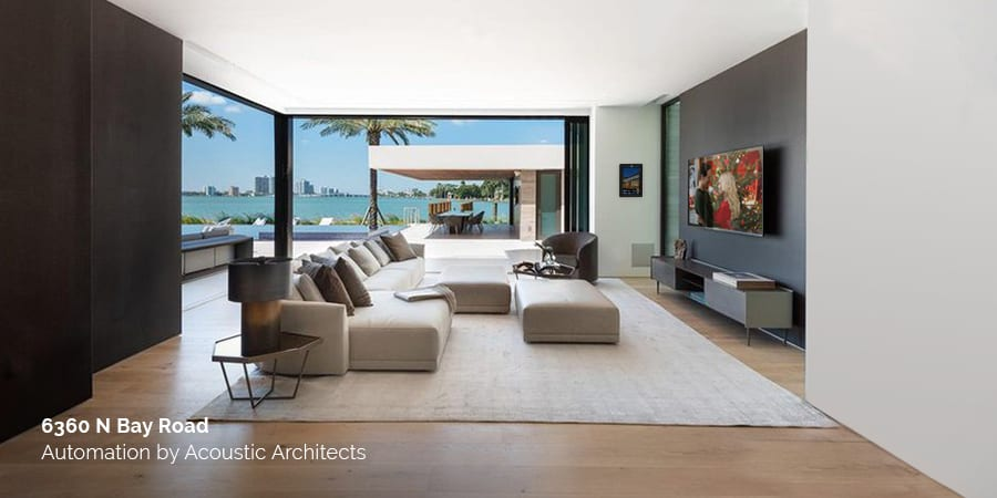 Smart home automation made for holiday entertaining with Acoustic Architects.
