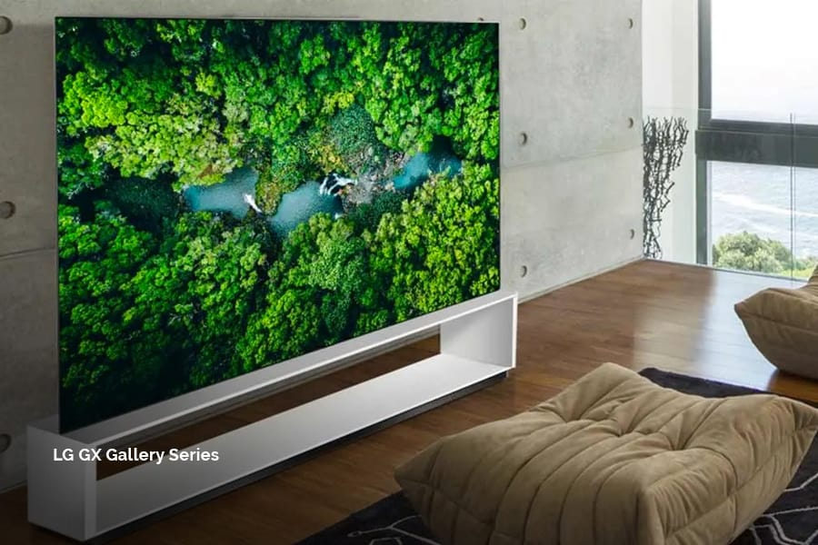 LG TV smart screens for your automated home, integrated technology design by Acoustic Architects.
