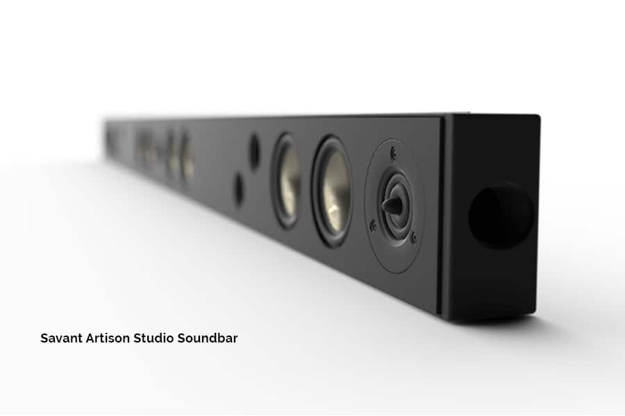 The Artison Studio single zone unit soundbar controls your entire smart home through the Savant Pro app, delivers WiSA technology, and studio quality music. acousticarchitects.net.