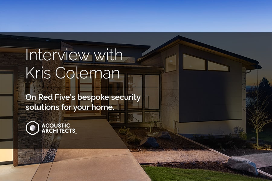 "Red Five, founded by Kris Coleman (former CIA and the FBI), is providing safe rooms, resiliency planning, online privacy, and cybersecurity; and practical self-sufficiency skills to their clients and ""Ensuring bad things don't happen to good people."" acousticarchitects.net"